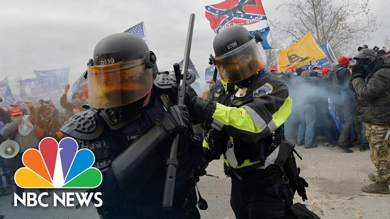 Domestic Extremism: 'They Aren't Wearing Hoods, But Slacks' | Meet The Press Reports | NBC News