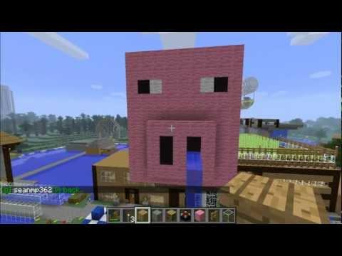 Minecraft Automatic PORKCHOP MACHINE