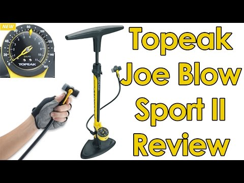 Topeak Joe Blow Sport II Track Pump Review