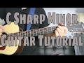 Download How to Play a C Sharp Minor Chord (Chord Guitar Tutorial!!) In Mp4 3Gp Full HD Video