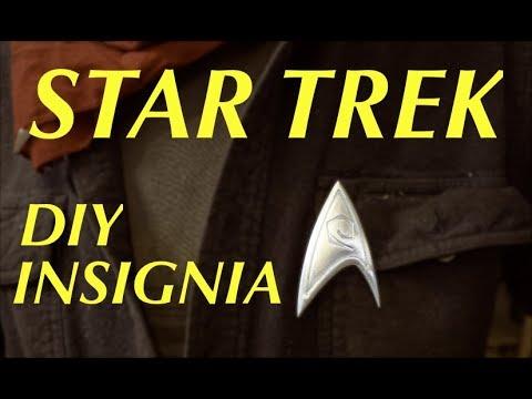 Star Trek Insignia 3D Carved from Aluminum