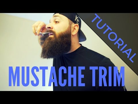 How I Trim my Mustache | Tutorial