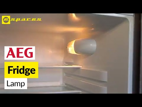 How to Replace a Fridge Light Bulb on an AEG Refrigerator