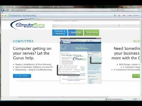 Guru Tips - Internet Browsing - Zoom