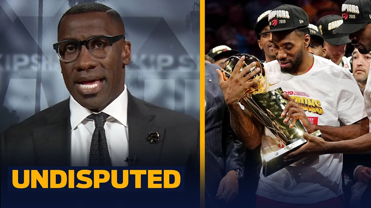 Shannon Sharpe: The trust built between Raptors & Kawhi can convince him to stay   NBA   UNDISPUTED