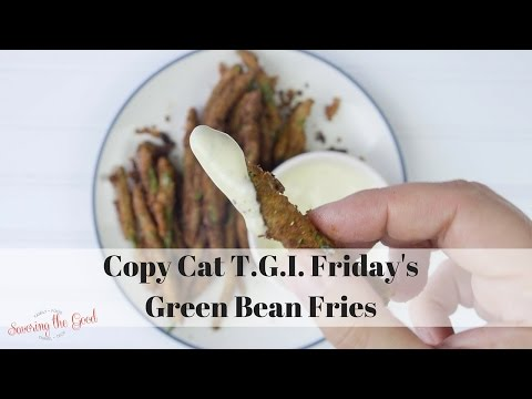 Copy Cat T.G.I. Friday's Green Bean Fries