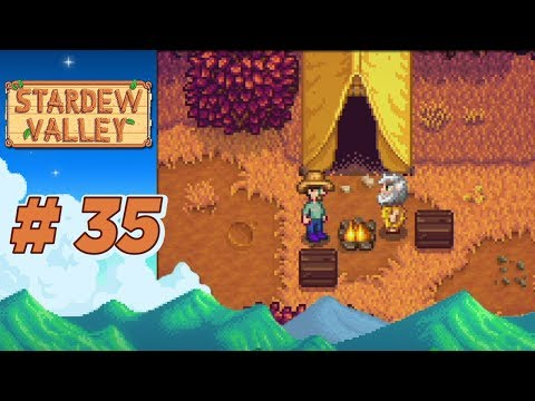 Stardew Valley :: Ep 35 - An Evening At Linus's