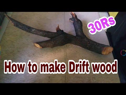 How to make Driftwood | DIY Driftwood | Driftwood kaise banaye HINDI