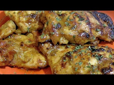 Honey Curry Chicken Thighs Recipe- Easy Weekday Dinner Idea!
