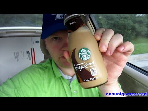 Reed Reviews Starbucks Bottled Mocha Frappuccino