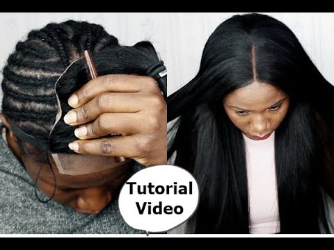 Tips and Tricks- WATCH ME DO SEW- IN WEAVE ON MY HEAD & Leave-Out ft sugar hair
