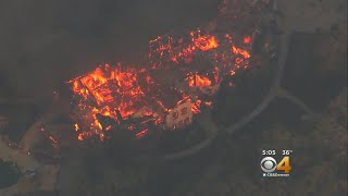 Deadly California Wildfires Burning