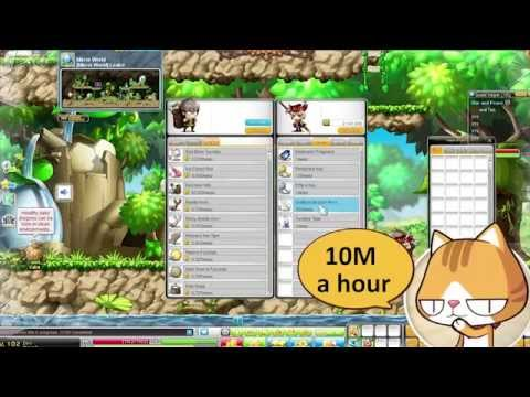 MapleStory - Meso Guide - How to get 50m Mesos
