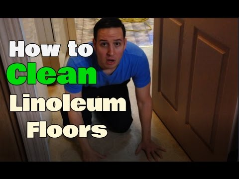 How To Clean Linoleum Floors | Remove Buildup | Clean With Confidence