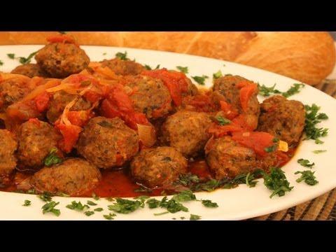 Meatballs Recipe Meatballs With Tomato Sauce
