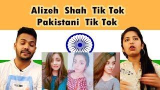 Indian Reaction on Alizeh Shah Tik Tok | Pakistani Tik Tok | Swaggy d