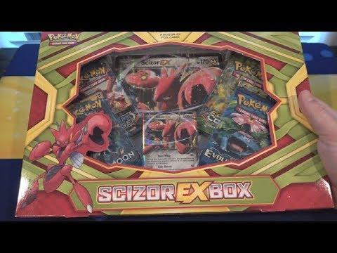 Pokemon Scizor EX Box Opening