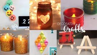 Download 6 Home Decorative Craft Ideas | DIY Room Decor | Handcraft Video
