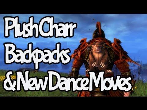 Guild Wars 2 - Plush Charr Backpacks & New Dance Moves!