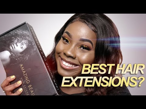 Amazing Beauty Hair Extensions Review - LOOK AT WHAT THEY SENT ME!!!