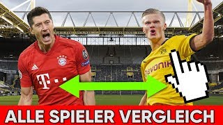 ALLE BVB-Spieler VS ALLE Bayern-Spieler !