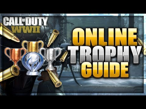 100% Multiplayer Trophy Guide | COD WWII