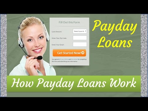 Cash Advance | How Do Payday Loans Online Work?