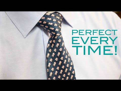 How to Tie A Tie - Half Windsor Knot - Easy Method!