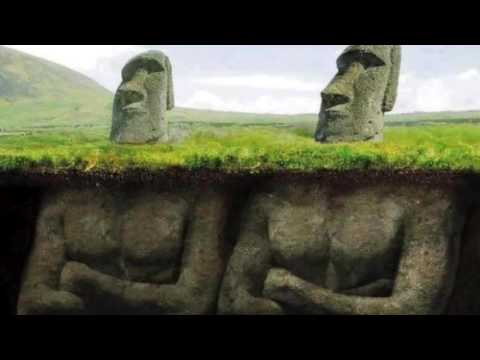 Easter Island Heads - Have Bodies!