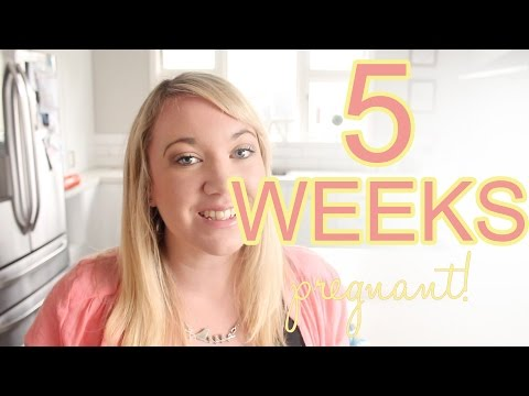 5 Weeks Pregnant | Hcg levels, Midwife & Weird dreams