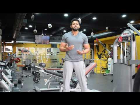 3 Best Bicep Workouts by Dheeraj (Telugu)