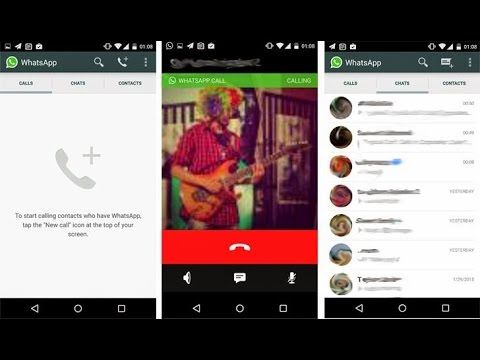 Whatsapp call feature APK Download link(Activation Without Invite)