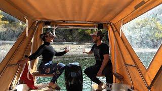 Ada manzarası ile Yakala-Pişir   Teknede doğa ile iç içe izole tatil  Marinboat Samba Deluxe