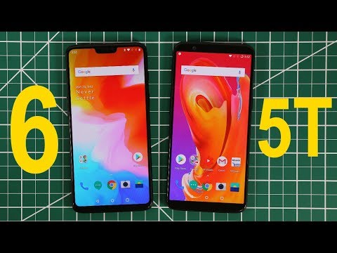 OnePlus 6 vs OnePlus 5T Compared - Everything You Need To Know