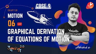 Motion L-6 (Graphical Derivation of Equations of Motion) CBSE 9 Physics Chap 1 NCERT   Umang Vedantu