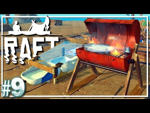 RAFT Survival | Food and Water Upgrades | Raft Gameplay Let's Play EP9
