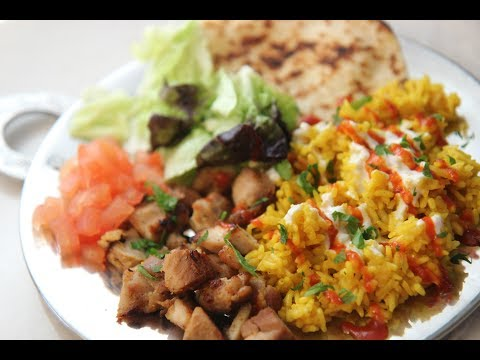 Halal NYC Cart Chicken and Rice - Cooked by Julie episode 350
