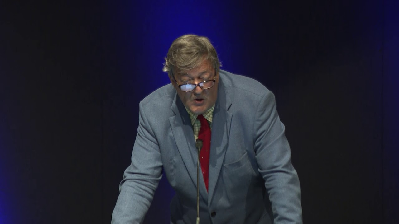 Shannon Luminary Lecture Series - Stephen Fry, actor, comedian, journalist, author