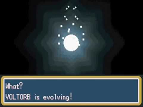 Pokemon Fire Red Voltorb Evolves To Electrode