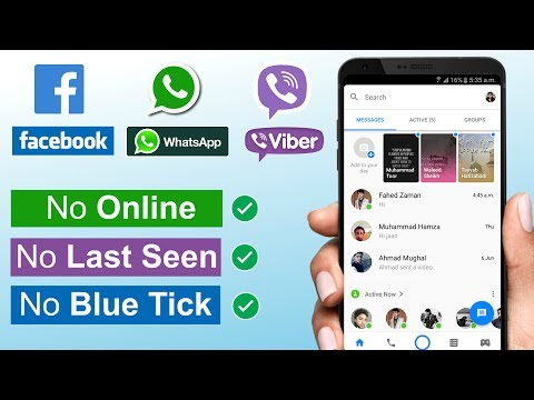 READ Messages without Coming ONLINE on Facebook WhatsApp,& Viber