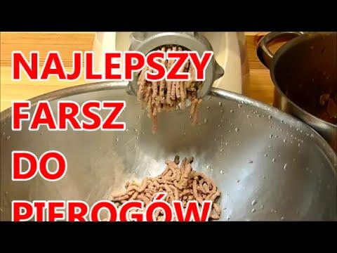 Święta przepisy całe Pierogi najlepszy farsz mięsny do pierogów pasztecików krokietów na obiad