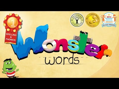 Wonster Words - Spelling with ABC and Phonics - Best iPad app demo for kids