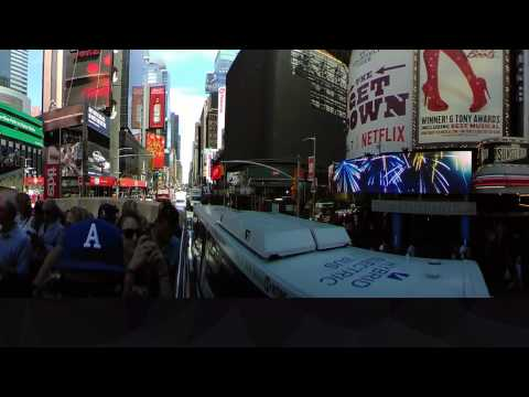 360 - Bus -Times Square, NYC - June 2017