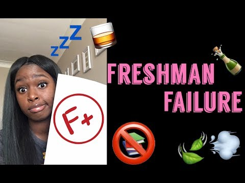 STORYTIME: 1.6 GPA Freshman Year