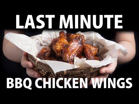 Pressure Cooker BBQ Chicken Wings