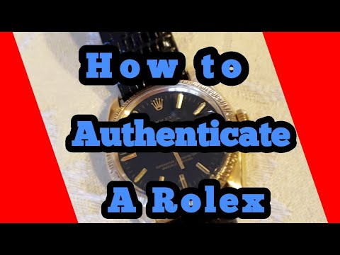 How to Authenticate a Rolex
