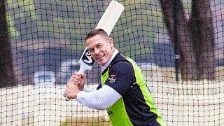 John Cena Playing Cricket With Shane Watson Wwe News