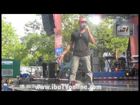 Ne-Yo - Because of You LIVE Good Morning America Summer Concert Series Central Park NYC iboTV