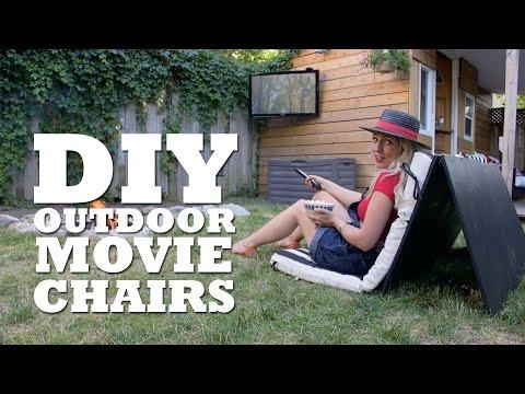 DIY Outdoor Cinema Chairs