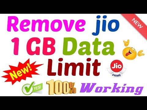 [NEW] Remove jio limit 1GB get 100GB 100% with proof